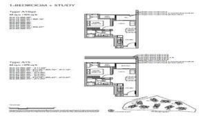 Sengkang Grand Residence Floor Plan 1