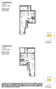 The Landmark Floorplan 1