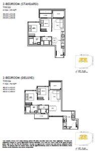 The Landmark Floorplan 4