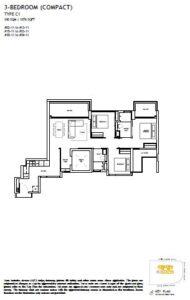 The Landmark Floorplan 6