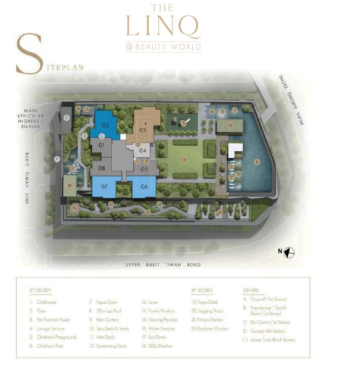 The Linq Site Plan