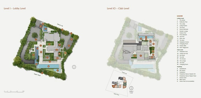 19 Nassim Site Plan 1