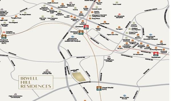 Irwell Location Plan