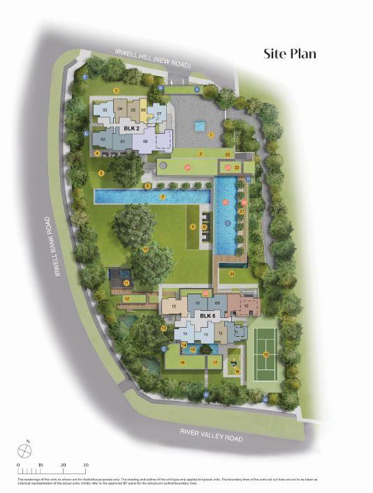 Irwell Site Plan