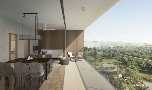 The Woodleigh Residences Balcony